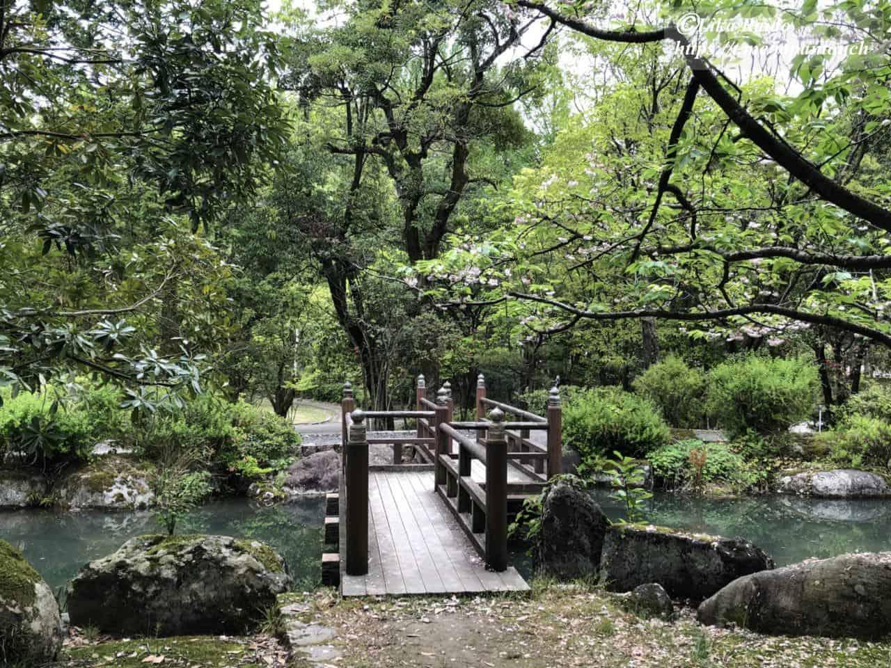 По японскому саду