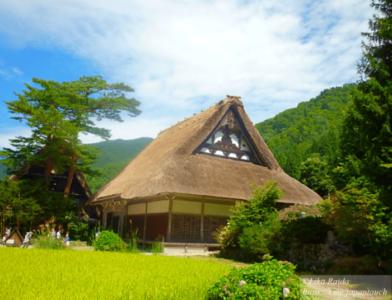 Знаменитая деревня Сиракава-го