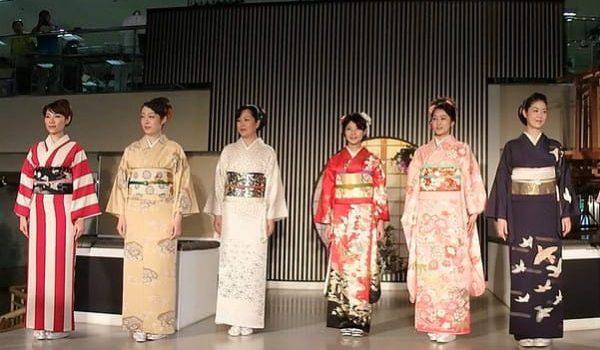 Национальный костюм Японии. Разница между «кимоно» и «юката».