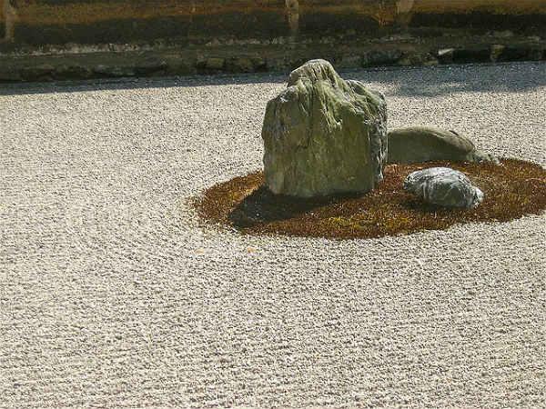 Сад Реандзи в Киото