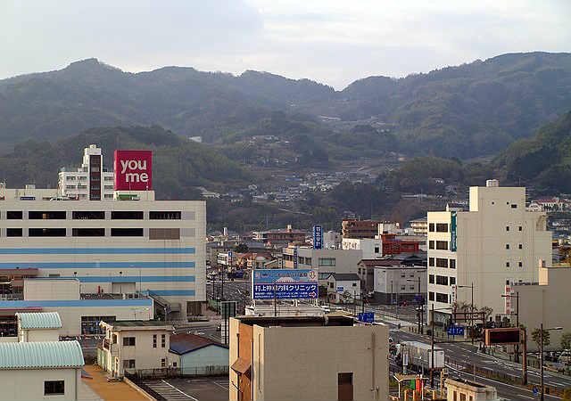 Город у гор