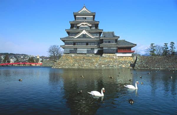 Matsumoto castle. Japan