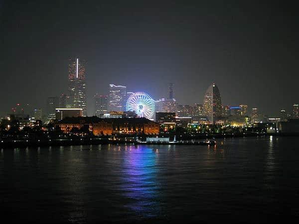 Токийский залив вид