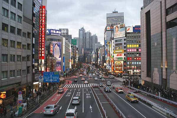 Япония город