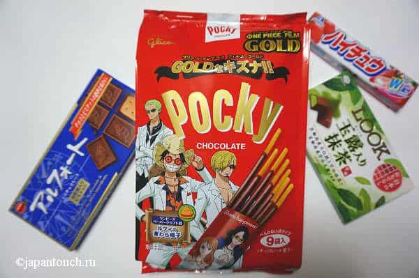 Японские вкусняшки Pocky