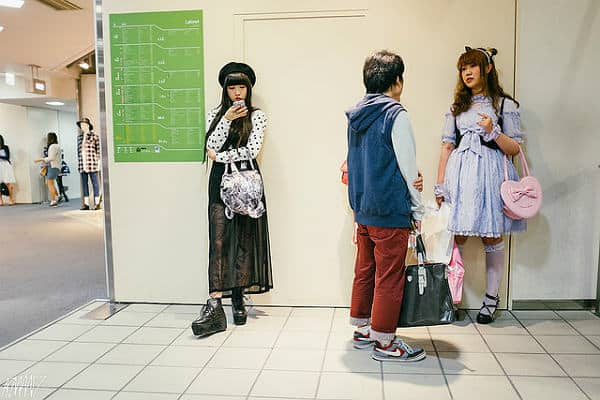 Японский уличный стиль