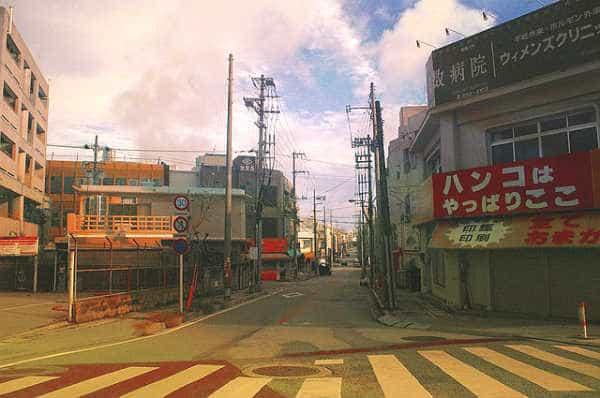 улочка маленького города
