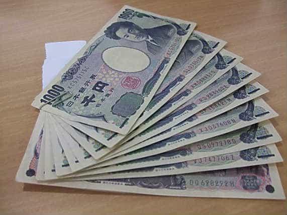 1000 японских йен