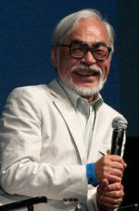 Hayao Miyazaki смеется