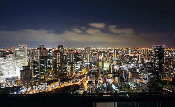 Древняя столица Японии — город Осака