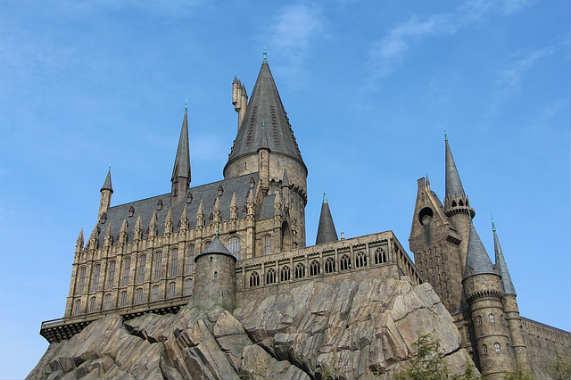 Замок Гарри Поттер студия Универсал Осака
