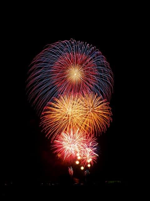 fireworks-японский фейерверк