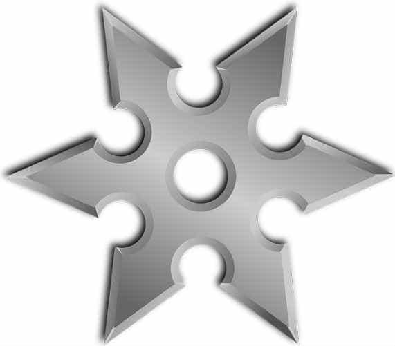 shuriken-звезда ниндзи