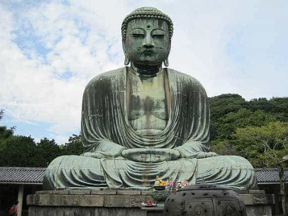 японский Будда статуя