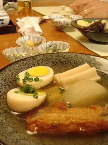 Как меняется японская кухня зимой!