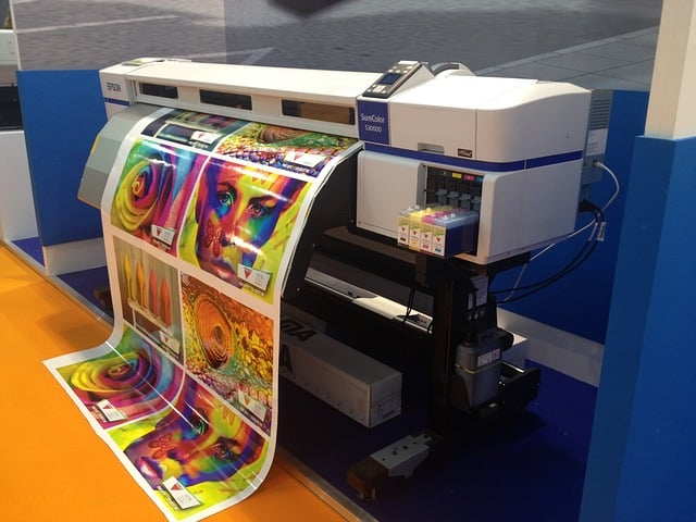 Пищевой принтер на японской кухне.