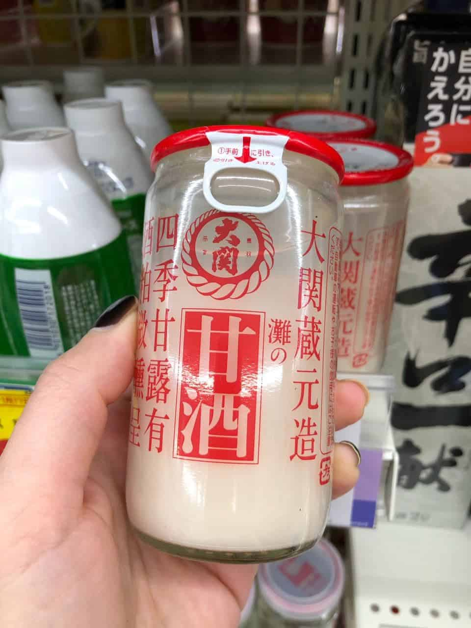 Амазаке - традиционные японские напитки